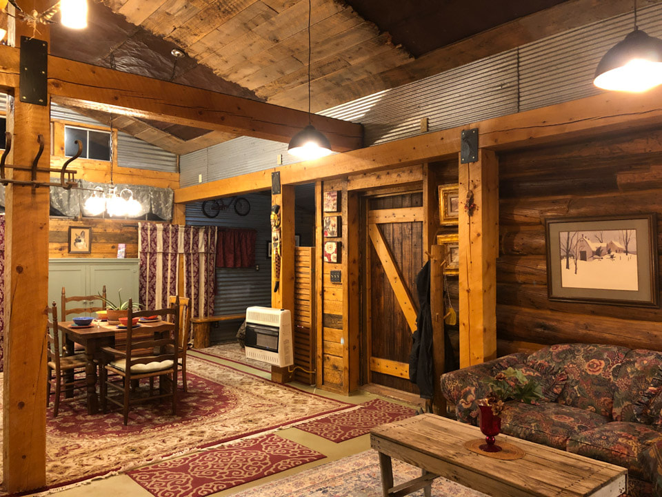 The Log Cabin House Rental Del Norte CO